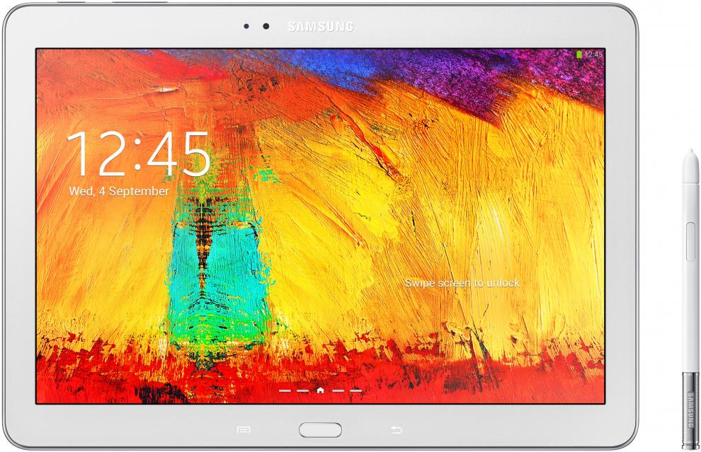 "3G Таблет Samsung SM-P6050 Galaxy Note 10.1"" (2014 Edition) 3G, 16GB, Бял"