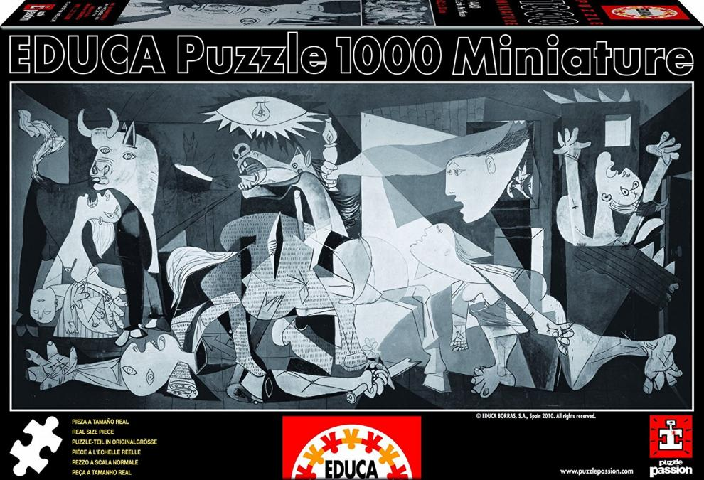 Пъзел Educa Miniature Guernica от 1000 части - (14460)