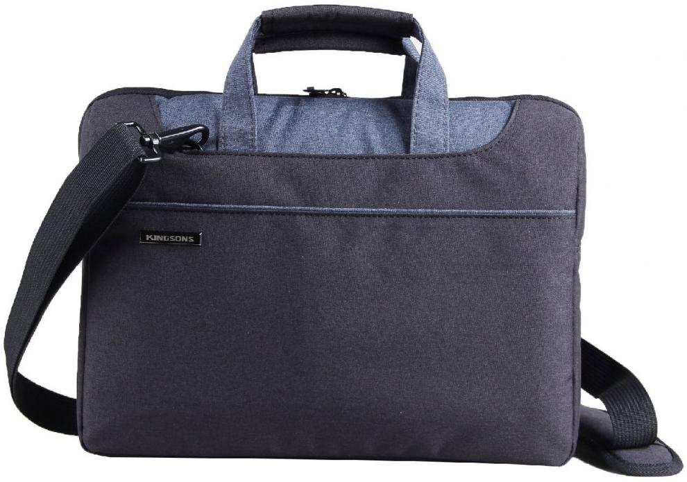 "Чанта за лаптоп Kingsons KS3093W-BB Laptop Bag 13.3"" Concord Series - Черен"