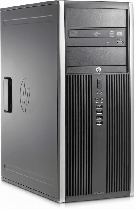 UPGRADED Супер бърз HP Compaq 8100 Elite CMT, Intel i5-650 Dual-Core (up to 3.60GHz) 8 GB DDR3, 500GB, 240 GB SSD Tower, Нова nVidia GeForce GT 1030 - 2 GB с 2 години гаранция, Win10 Pro RFB