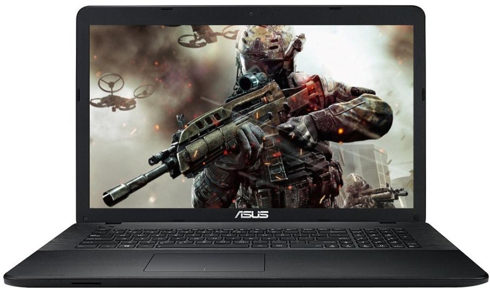 ASUS X751SJ-TY001D, Intel Pentium Quad-Core N3700 (up to 2.4GHz) 4GB RAM, 1TB HDD, nVidia GT 920M, Черен
