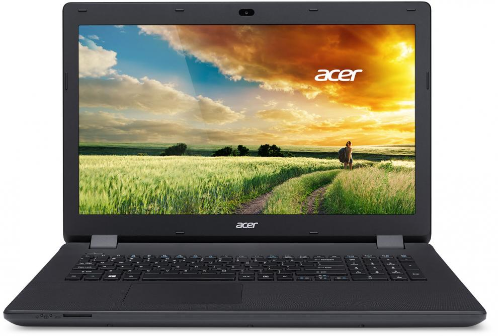 Лаптоп Acer Aspire ES1-731-P7VX, Intel Pentium Quad-Core N3700 (up to 2.40GHz) 4GB RAM, 1TB HDD, NX.MZSEX.017