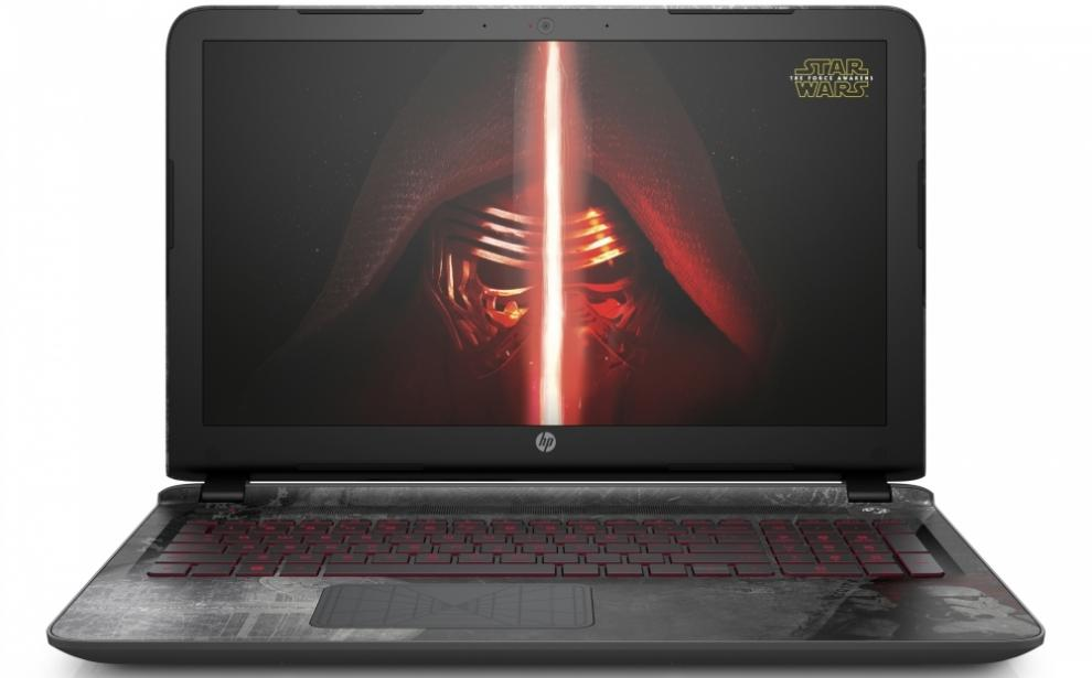 HP Pavilion 15-an001na Star Wars, Intel Core i5-6200U (up to 2.80GHz) 8GB RAM, 1TB HDD, 512GB SSD, NVIDIA GT 940M 2GB, Win 10, P0S47EA