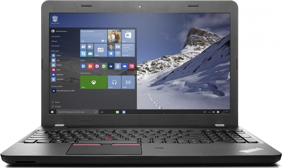 Лаптоп Lenovo ThinkPad Edge E560, Intel Core i5-6200U (up to 2.8GHz) 4GB, 1TB HDD, 20EVS00800_5WS0A23781