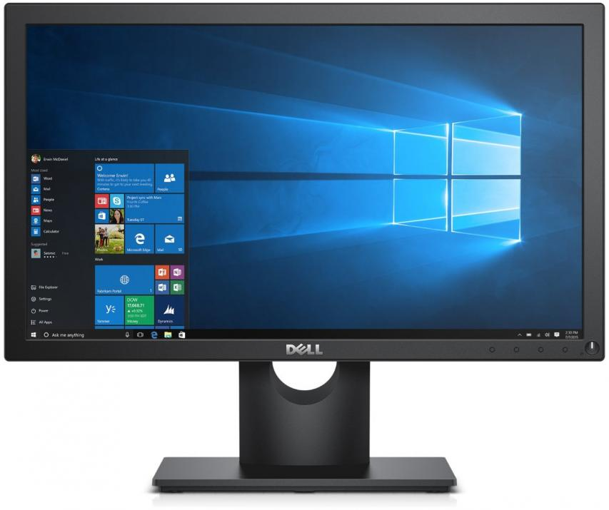 "Монитор Dell E2216HV, 21.5"" LED TN, FHD (1920 x 1080), Черен"