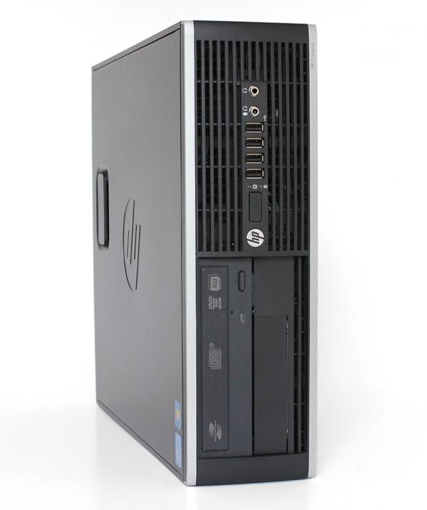 За игри HP Compaq Elite 8300 SFF, i5-3470, 8GB RAM, 240GB SSD, 500GB HDD, GT 1030, Win 10