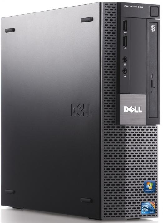 Супер бърз Dell Optiplex 980 i5-650/4GB/250GB/DVD-RW SFF