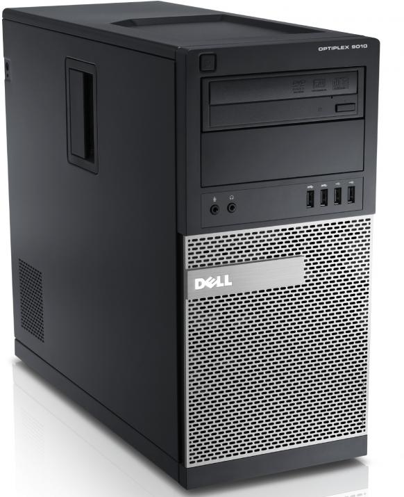 Четириядрен Dell Optiplex 9010 i5-3470/4GB DDR3/250GB HDD/GT740 2GB/DVD RW/Tower