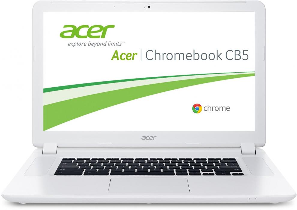 "15.6"" FHD Лаптоп Acer CB5-571 Chromebook, Intel Core i3-5005U (2.0GHz) 4GB, 32GB SSD, Intel HD Graphics, NX.MUNEH.005"