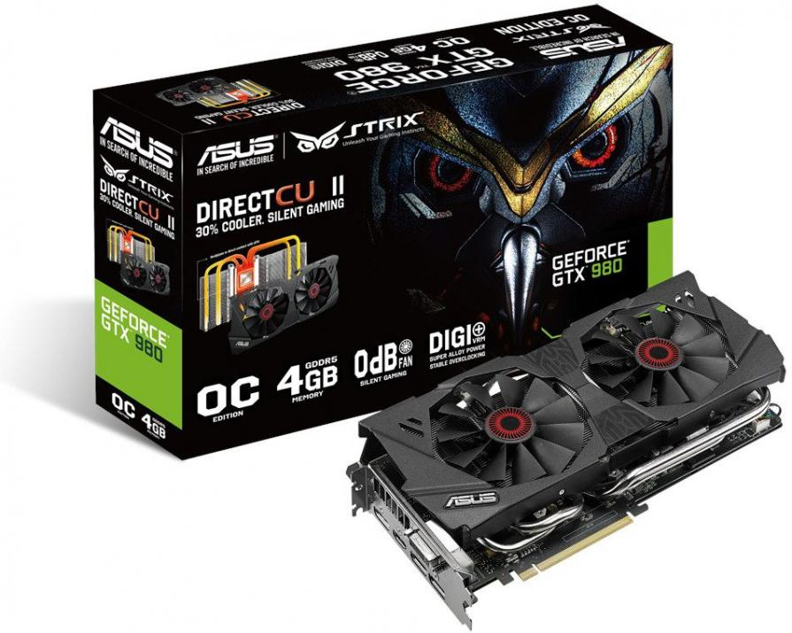 Видео карта ASUS STRIX GTX980 4GB DDR5