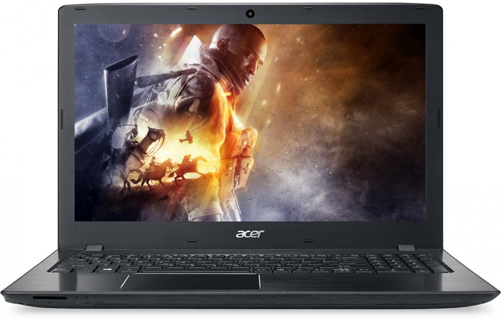 "UPGRADED Acer Aspire E5-575G-58Q2 (NX.GDWEX.123) 15.6"" HD LED, Intel Core i5-7200U, 8GB RAM, 1TB HDD, GF 940MX, Черен"