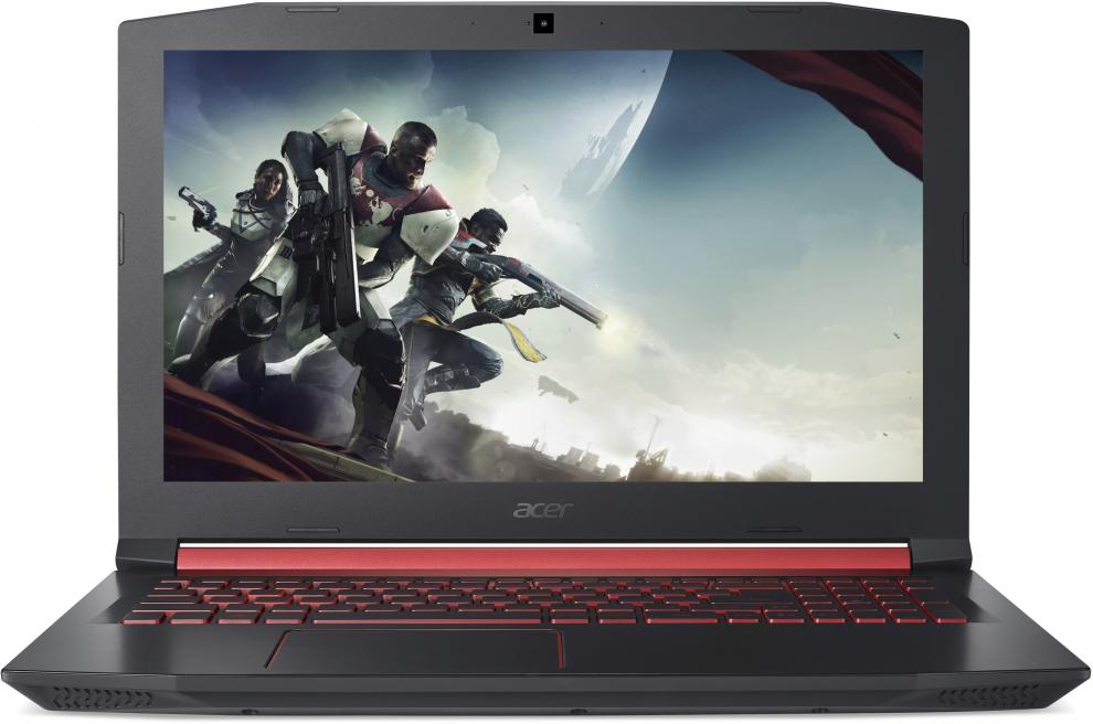 "UPGRADED Acer Aspire Nitro 5, 15.6"" FHD IPS, i7-7700HQ, 8GB DDR4, 256GB SSD, 1TB HDD, GTX 1050, Черен (NH.Q2REX.004)"