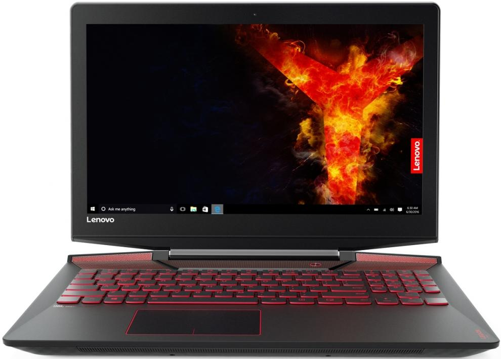 "UPGRADED Lenovo Legion Y720-15IKB 15.6"" FHD IPS, i7-7700HQ, 16GB RAM, 256GB SSD, 1TB HDD, GTX 1060M, Черен (80VR003GBM)"