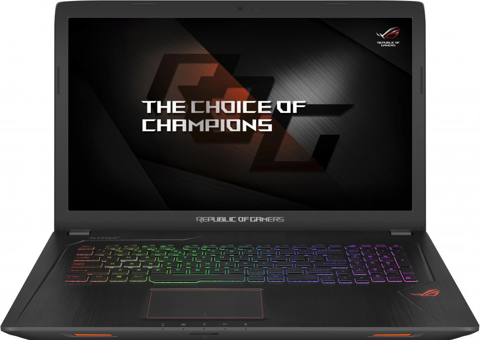 "UPGRADED ASUS ROG Strix GL753VE-GC169, 17.3"" IPS FHD, i7-7700HQ, 16GB RAM, 1TB HDD, GTX 1050Ti 4GB, Метален 1"