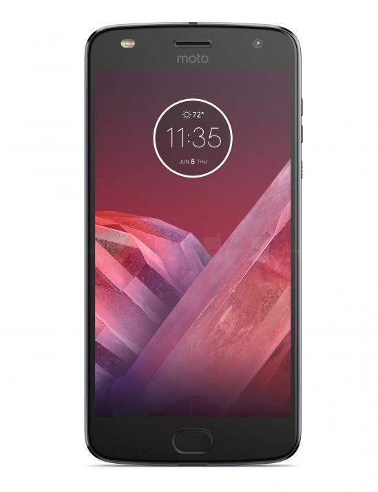 Смартфон Motorola Moto Z2 Play 64GB, Single SIM, Сив
