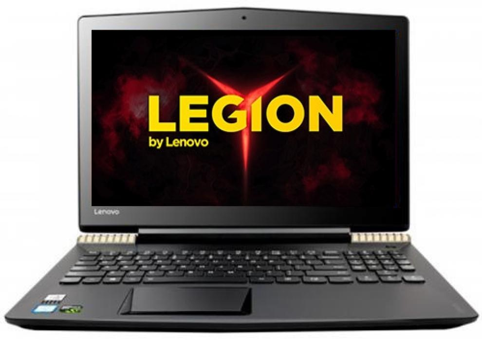 "UPGRADED Lenovo Legion Y520 (80WK0198BM) 15.6"" IPS FHD, i7-7700HQ, 8GB RAM, 128GB SSD, 1TB HDD, GTX 1050Ti 4GB, Черен и златист"