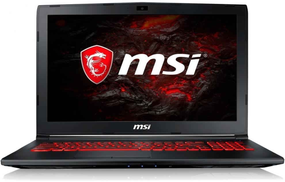 "UPGRADED MSI GL62M 7RDX, 15.6"" FHD, i5-7300HQ, 8GB RAM, 128GB SSD, 1TB HDD, GTX 1050, Черен"