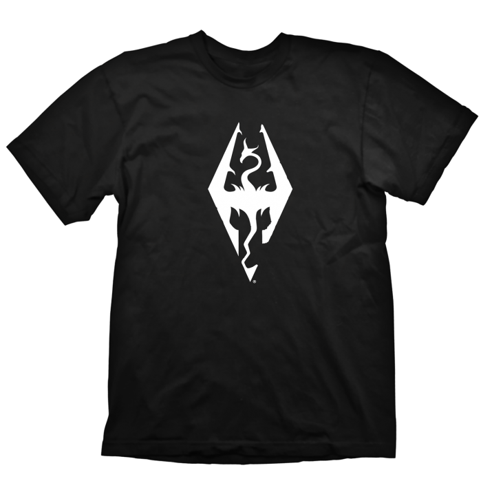 Тениска GAYA THE ELDER SCROLLS V: SKYRIM DRAGON SYMBOL, размер XL
