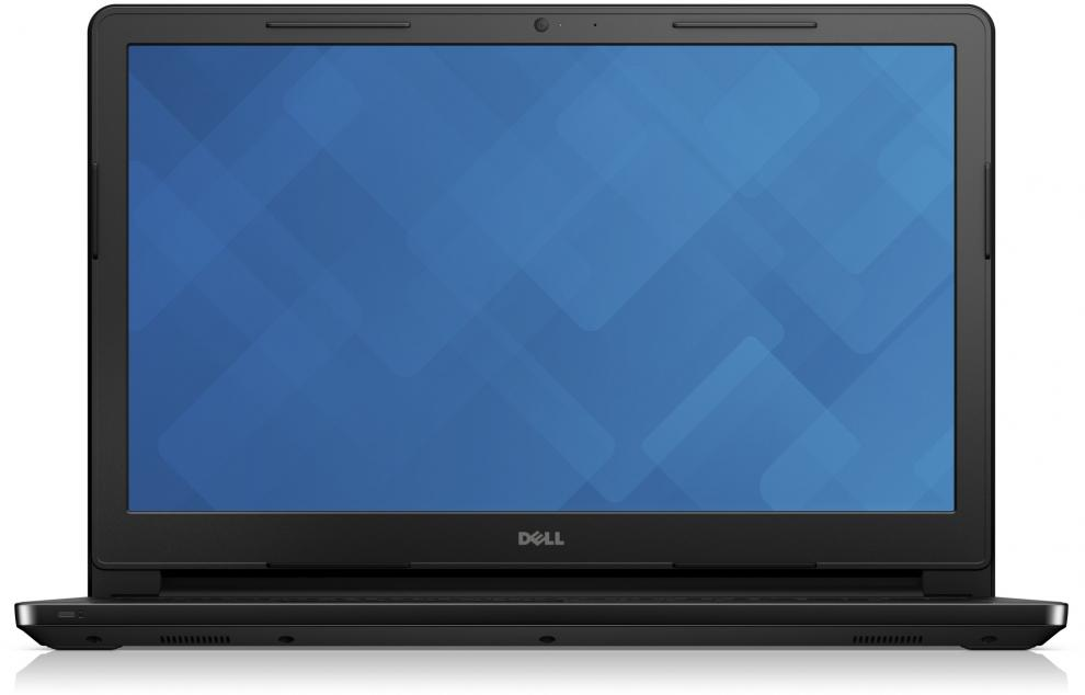 "Dell Inspiron 3552, 15.6"" HD, Pentium Quad-Core N3710, 4GB RAM, 500GB HDD, Черен"