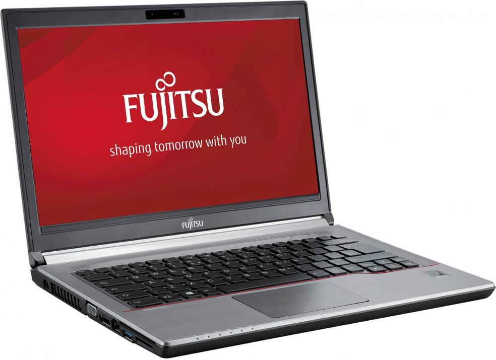 "Fujitsu Lifebook E744, 14.0"" 1600x900, i5-4300M, 4GB RAM, 500GB HDD, No cam, Win 10"