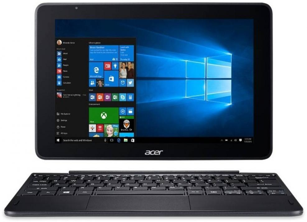 "Таблет Acer One 10 S1003-192B, 10.1"" WXGA (1280 x 800), 32GB eMMC, Windows 10, Черен"