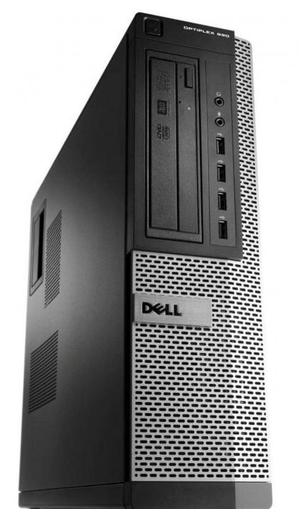 Dell Optiplex 790 DT, i7-2600, 4GB RAM, 120GB SSD, 250GB HDD, Win 10 Pro