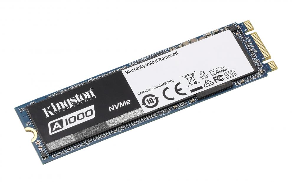 SSD диск 240GB Kingston A1000 M.2 2280 NVMe (KIN-SSD-SA1000M8/240G)