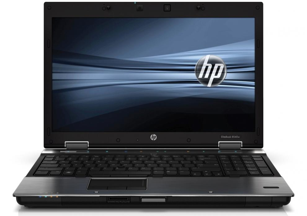 "Workstation HP EliteBook 8540W, 15.6"" 1600x900, i7-620M, 8GB RAM, 320GB HDD, FX880M, Cam, Win 10 Pro"