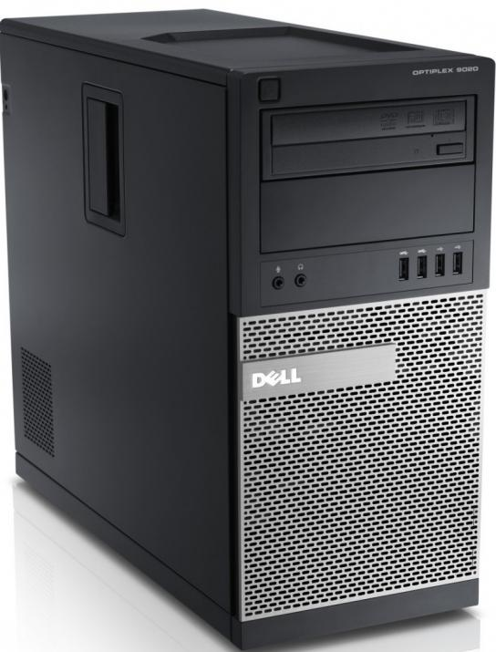 За игри Dell Optiplex 9020 Tower, i7-4770, 4GB RAM, 120GB SSD, 250GB HDD, GTX 1050Ti, DVD-RW