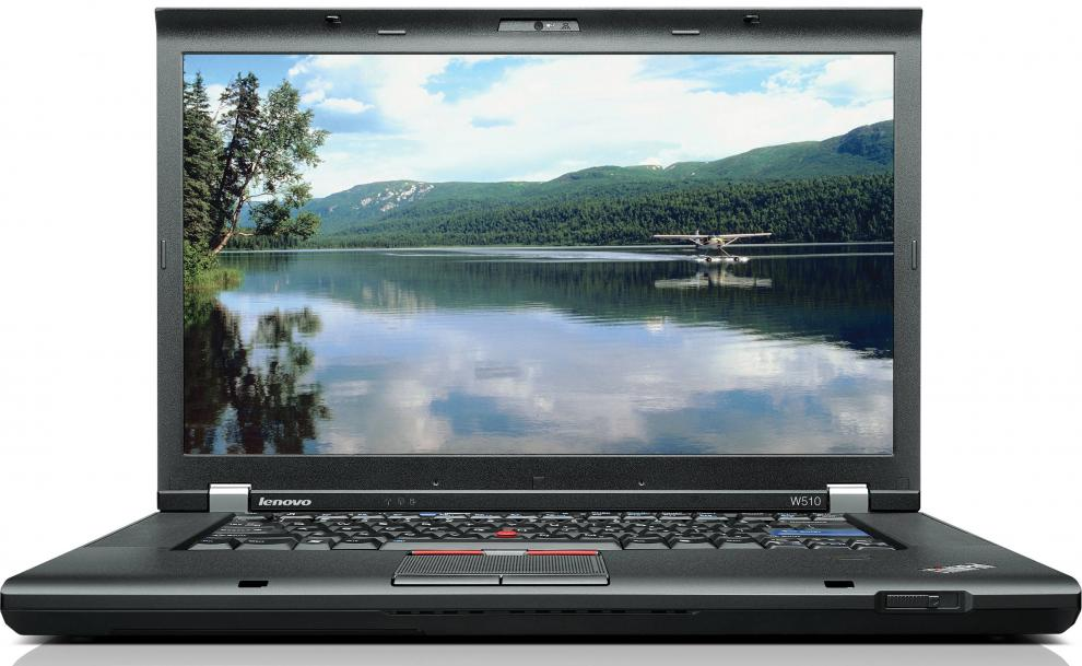 "Lenovo ThinkPad W510, 15.6"" 1600x900, i5-520M, 8GB RAM, 320GB HDD, FX880, Nocam, Win 10"