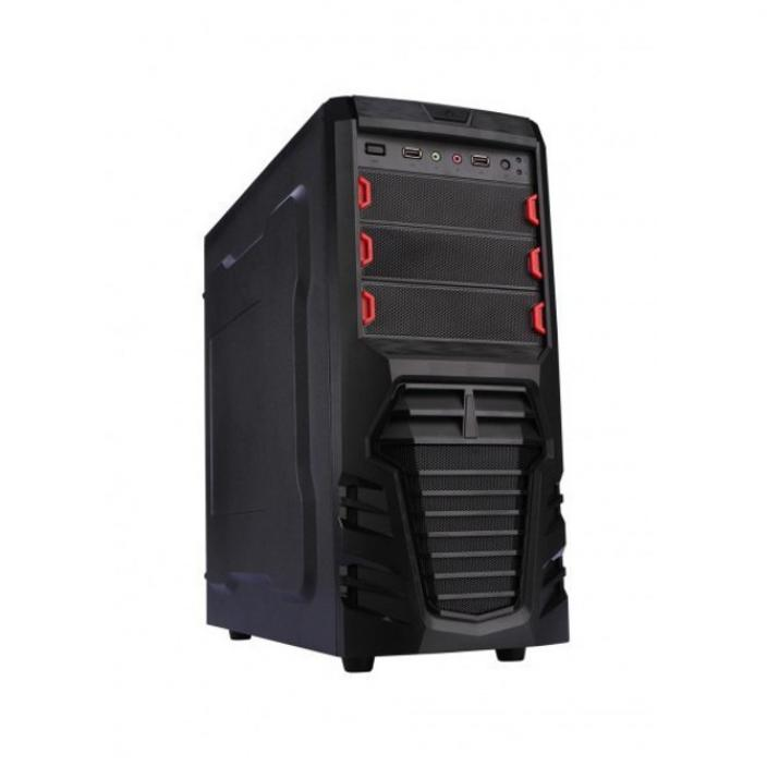 Компютър Shooter Coffee Lake I7-8700, 8GB, 1TB, GTX 1050ti 4GB DDR5