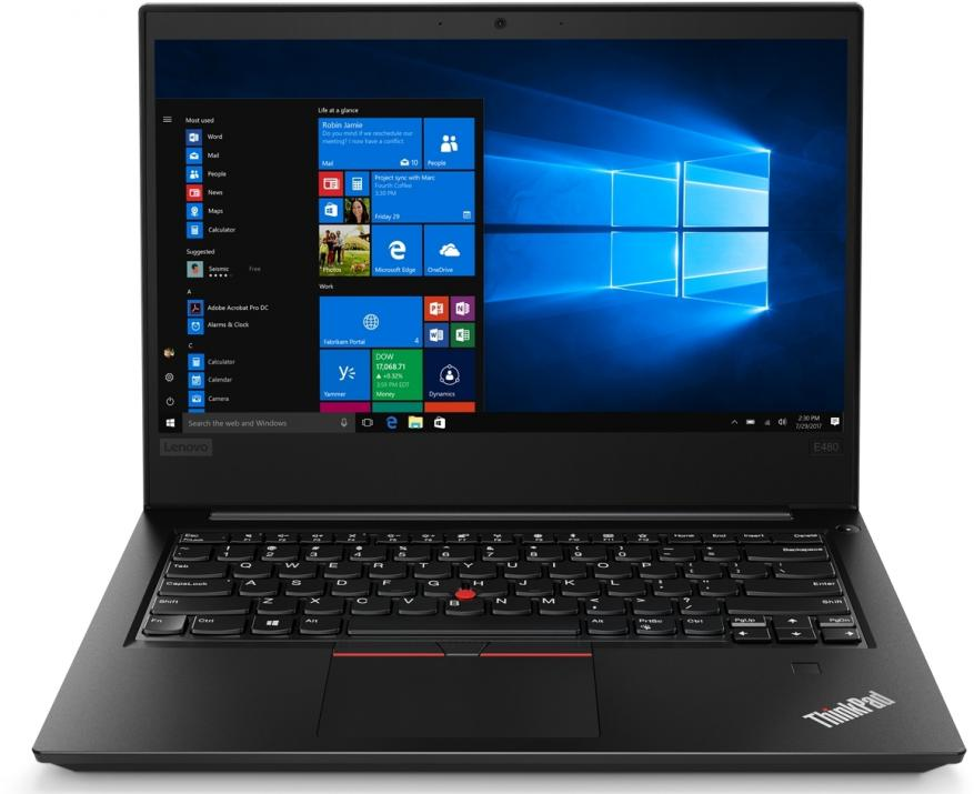 "Lenovo ThinkPad Edge E480 (20KN001VBM) 14.0"" FHD IPS, i7-8550U, 8GB RAM, 1TB HDD, AMD Radeon RX 550, Win 10 Pro"