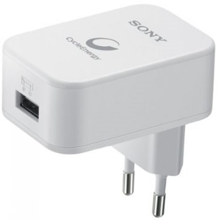 Зарядно за телефон и таблет Sony Charger with 1 USB slot, 2.1A fast charge, 50cm cable A-C included