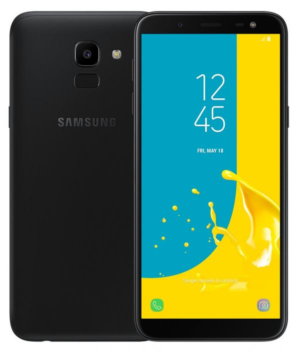 Samsung SM-J600F Galaxy J6 (2018), 32GB, Single SIM, Черен