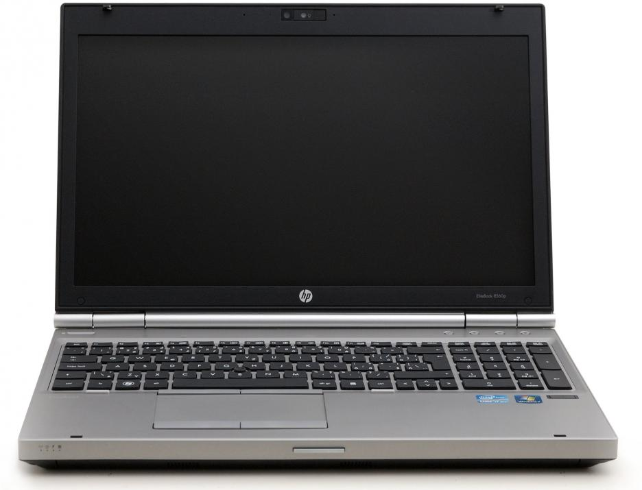 "HP EliteBook 8560p, 15.6"" 1600x900, i5-2540M, 8GB RAM, 500GB HDD, ATI 6470, Cam, Win 10"