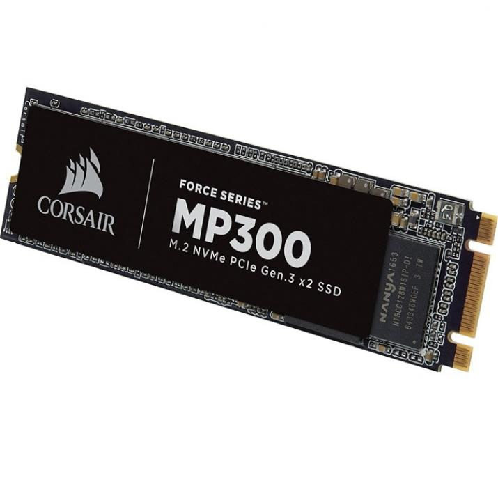 SSD диск Corsair Force MP300 Series NVMe (CSSD-F480GBMP300)