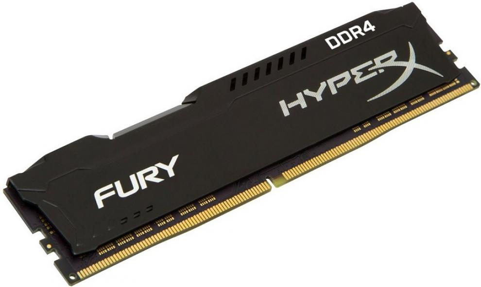 Памет Kingston HyperX Fury 8GB DDR4 3466Mhz CL19 HX434C19FB2/8