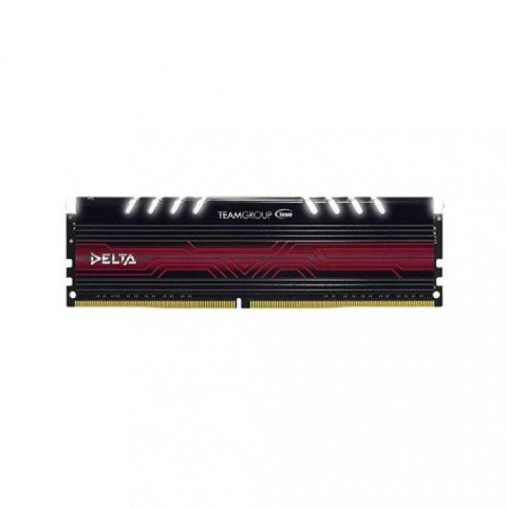 Памет Team Group Delta Red DDR4 16GB 2400MHz CL15-17-17-35 1.2V