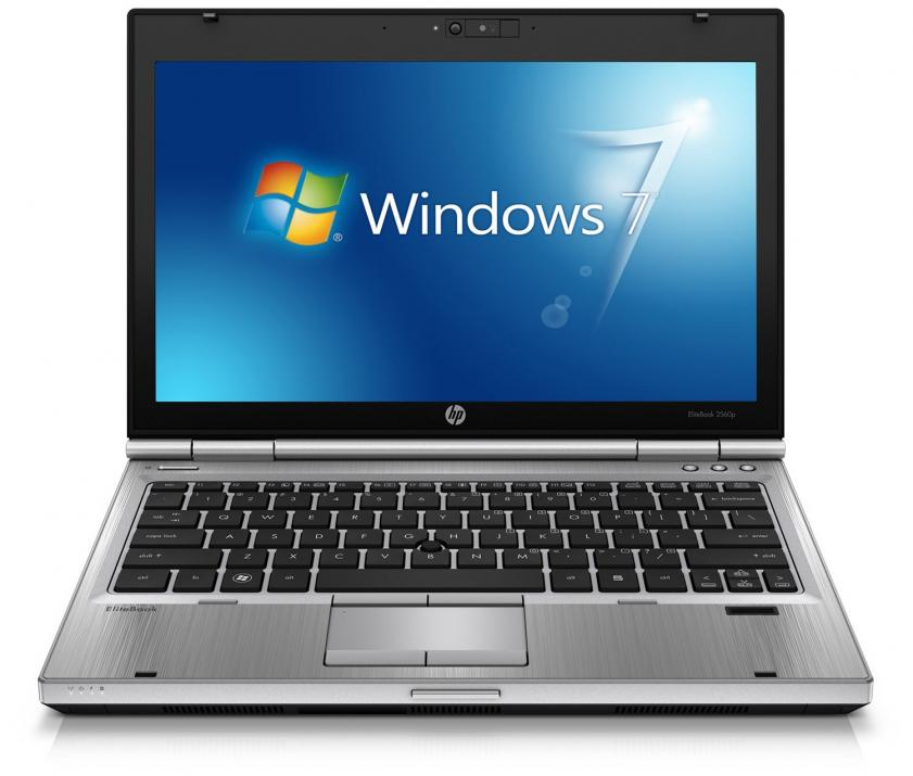 "HP EliteBook 2560p, 12.5"" 1366x768, i7-2620M, 4GB RAM, 250 HDD, No Cam, Win 10"