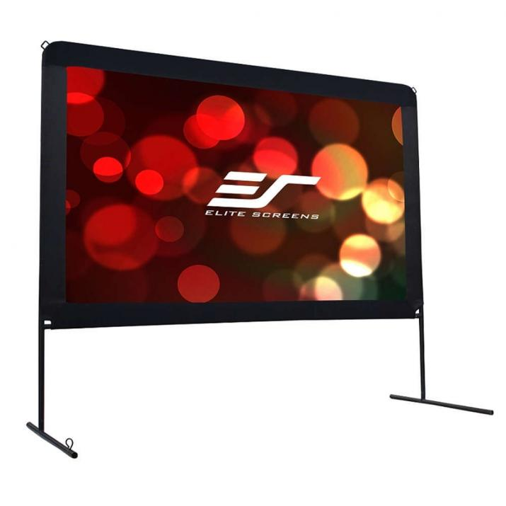 "Екран за проектор, Elite Screen OMS100H Yard Master Outdoor, 100"" (221.5 x 124.5), Черен"