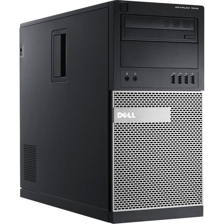 Dell Optiplex 7010 Tower, i5-3470S, 8GB RAM, 240GB SSD, 500GB HDD