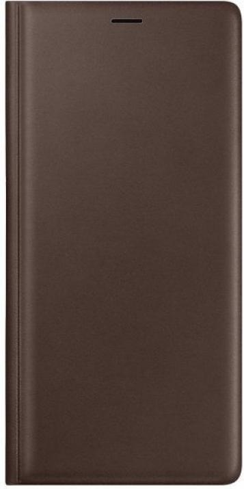 Flip калъф за Samsung Galaxy Note 9 (EF-WN960LAEGWW), Leather View Cover, Кафяв