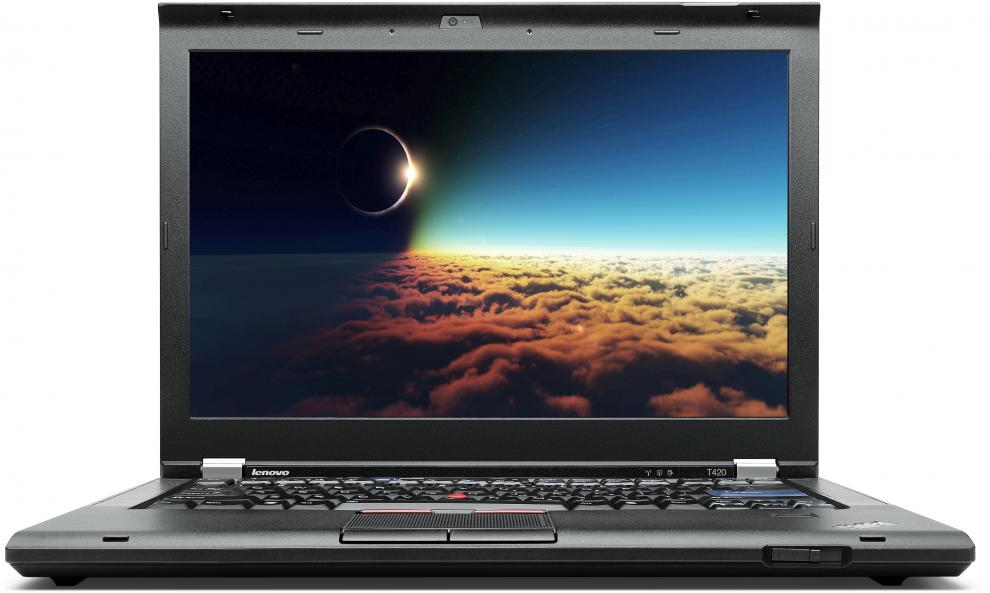"Lenovo ThinkPad T420, 14.1"" 1600x900, i5-2410M, 8GB RAM, 320GB HDD, Quadro 4200M, Cam, Win 10"
