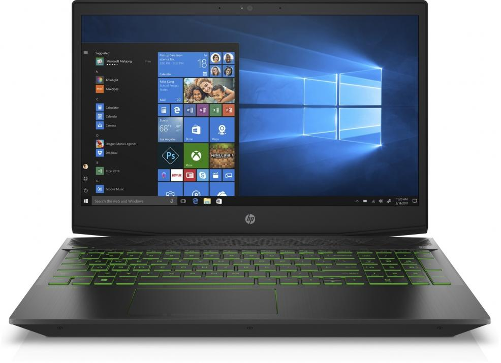"UPGRADED HP Pavilion Gaming 15-cx0053nu (4MK31EA) 15.6"" FHD UWVA IPS, i7-8750H, 8GB RAM, 256GB SSD, 1TB HDD, GTX 1050, Черен"
