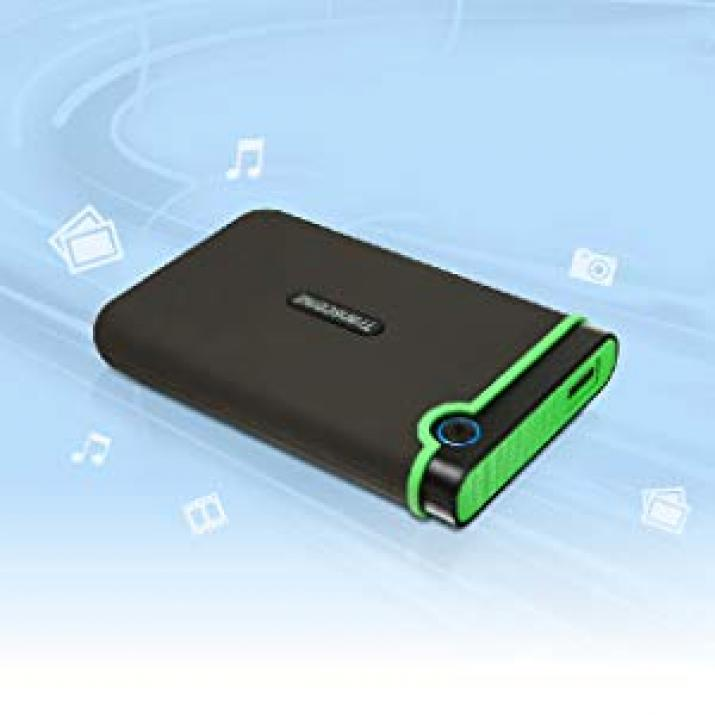 Външен диск Transcend StoreJet 25MC 2TB USB 3.1 (TS2TSJ25MC)