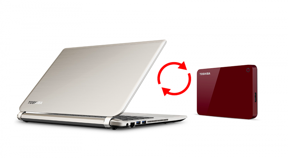 Външен диск Toshiba Canvio Advance 2TB, Син (HDTC920EL3AA)
