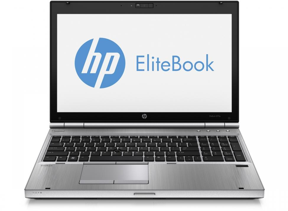 "HP EliteBook 8570p, 15.6"" 1600x900, i5-3210M, 4GB RAM, 120GB SSD, Cam, Win 10"