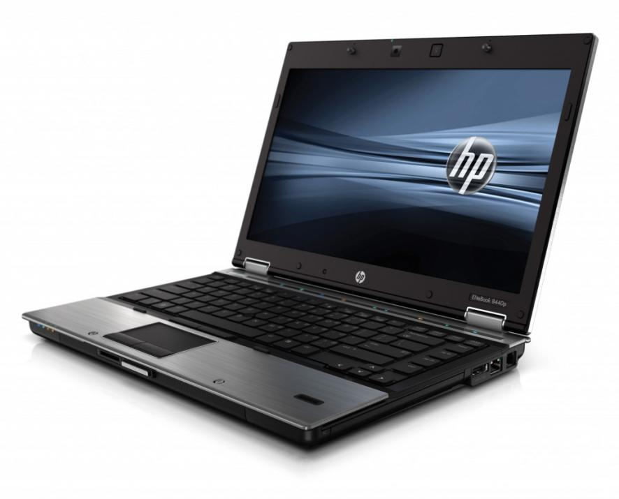 "HP EliteBook 8440p, 14.1"" 1366x768, i5-520M, 4GB RAM, 320GB HDD, No cam, Win 10"