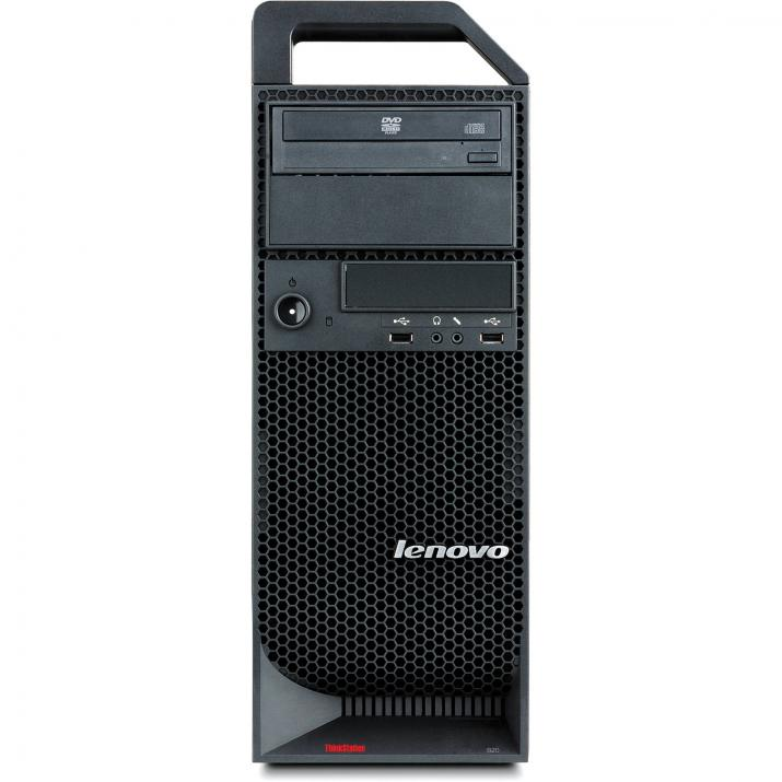 Работна станция Lenovo ThinkStation S30, Xeon E5-1620 Quad-Core, 16GB RAM, 240GB SSD, 500GB HDD, Quadro 4000