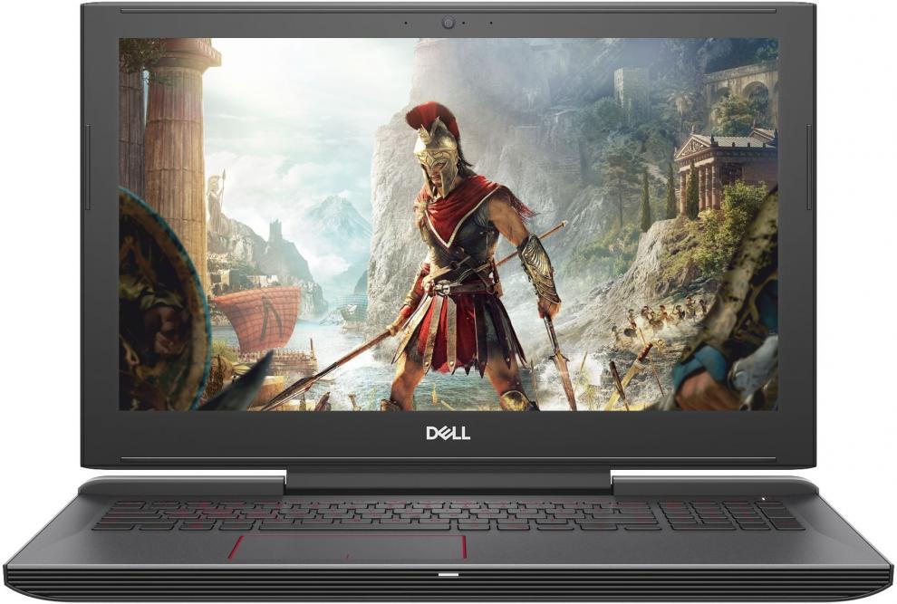 "Лаптоп Dell G5 5587 (5397184199176) 15.6"" HD IPS, i5-8300H, 8GB RAM, 128GB SSD, 1TB HDD, GTX 1050Ti, Черен"